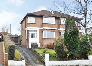 Thumbnail 3 bed semi-detached house for sale in South Mains Road, Milngavie, East Dunbartonshire