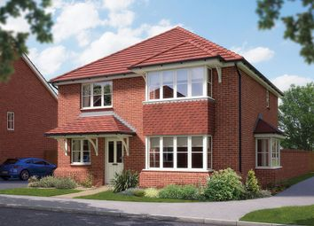 "Thumbnail 4 bed detached house for sale in ""The Canterbury"" at Matthewsgreen Road, Wokingham"