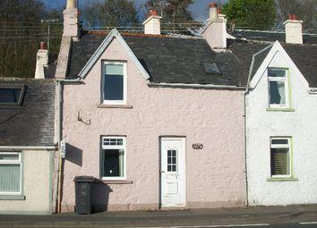 Thumbnail 1 bed terraced house for sale in Cairnryan, Stranraer