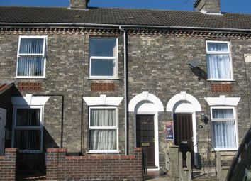 Thumbnail 3 bed terraced house to rent in Bells Road, Gorleston, Great Yarmouth