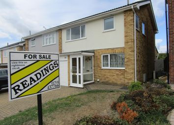 Thumbnail 3 bed semi-detached house for sale in Chevington Way, Hornchurch