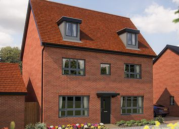 "Thumbnail 5 bed link-detached house for sale in ""The Wolverton"" at Barrosa Way, Whitehouse, Milton Keynes"