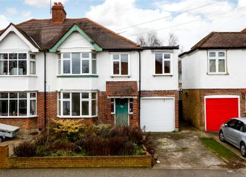 Thumbnail 3 bed semi-detached house for sale in Chiltern Drive, Surbiton