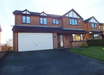 Thumbnail 5 bedroom detached house for sale in Woodruff Close, Packmoor, Stoke-On-Trent