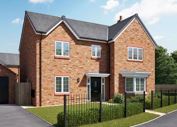 """Thumbnail 4 bedroom detached house for sale in """"The Cottingham"""" at Hartburn, Morpeth"""