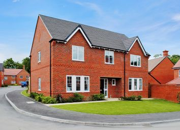 Thumbnail 5 bed detached house for sale in Tile Barn Row, Woolton Hill, Newbury