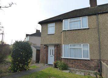 Thumbnail 3 bed end terrace house to rent in Woodcroft Crescent, Uxbridge, Greater London