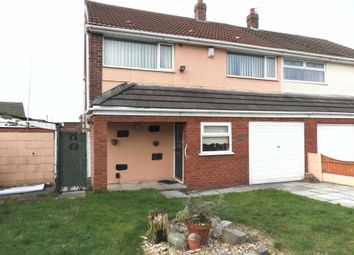 Thumbnail 4 bed semi-detached house for sale in Leeside Avenue, Kirkby, Liverpool