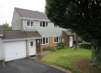 Thumbnail 3 bedroom semi-detached house for sale in Rougemont Close, Higher Compton