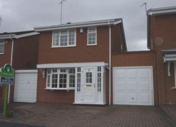 Thumbnail 3 bedroom detached house to rent in Leasowe Drive, Perton, Wolverhampton