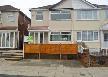 Thumbnail 3 bed semi-detached house to rent in Milton Ave L14, 3 Bed Semi