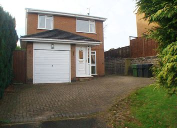 Thumbnail 3 bed detached house for sale in Stockhill Drive, Rednal