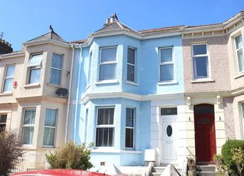 Thumbnail 3 bed terraced house for sale in Wesley Avenue, Peverell, Plymouth