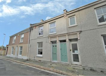 Thumbnail 2 bed terraced house to rent in York Place, Stoke, Plymouth