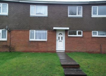 Thumbnail 3 bed terraced house to rent in Crossley Walk, Bromsgrove