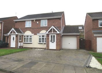 Thumbnail 2 bed semi-detached house for sale in Spohr Terrace, South Shields