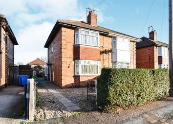 Thumbnail 2 bed semi-detached house for sale in Baker Street, Alvaston, Derby