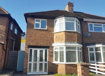 Thumbnail 3 bed semi-detached house to rent in Swithland Avenue, Off Abbey Lane, Leicester