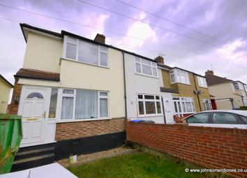 Thumbnail 3 bed semi-detached house to rent in Warwick Avenue, Egham