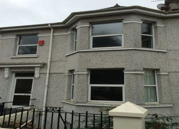 Thumbnail 5 bedroom terraced house to rent in Connaught Avenue, Mutley, Plymouth