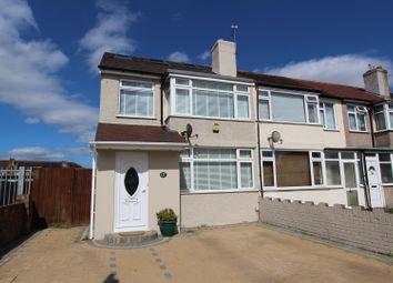 Thumbnail 4 bed end terrace house for sale in Grosvenor Crescent, Hillingdon, Uxbridge