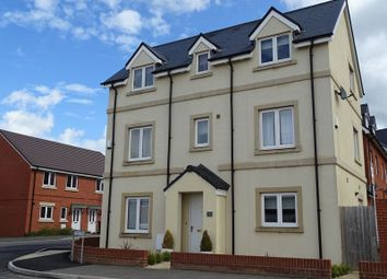Thumbnail 4 bed detached house for sale in Roger Way, Old Sarum, Salisbury