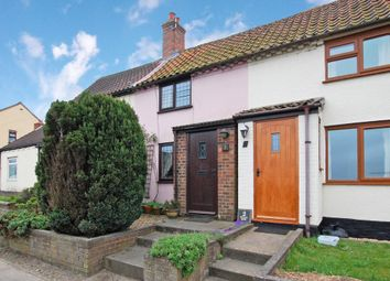 Thumbnail 2 bedroom terraced house for sale in Hulver Street, Hulver, Beccles