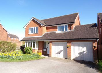 Thumbnail 4 bed detached house for sale in Spencer Gardens, Charndon, Bicester