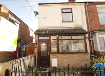 Thumbnail 2 bed end terrace house to rent in Leyland Avenue, Hull, East Yorkshire