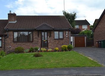 Thumbnail 2 bed semi-detached bungalow for sale in Pennine Way, Swadlincote