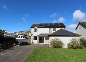 Thumbnail 4 bed detached house for sale in Lusart Drive, The Lizard, Helston