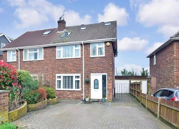 4 bed semi-detached house for sale in Tunbury Avenue, Walderslade, Chatham, Kent ME5