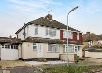 Thumbnail 3 bed semi-detached house for sale in Highland Road, Aldershot