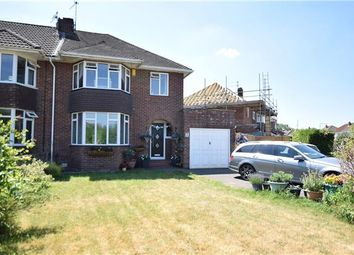 Thumbnail 4 bed semi-detached house for sale in Orwell Drive, Keynsham, Bristol