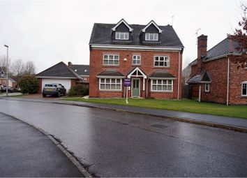 Thumbnail 5 bed detached house for sale in Redshank Drive, Macclesfield