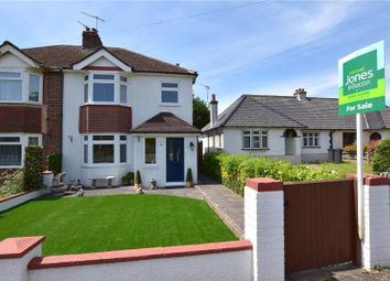 Thumbnail 3 bed semi-detached house for sale in Manor Road, North Lancing, West Sussex