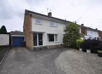 Thumbnail 3 bed semi-detached house to rent in Castlefields Avenue, Charlton Kings, Cheltenham
