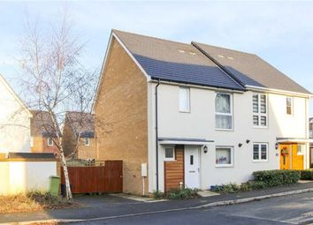 Thumbnail 3 bed semi-detached house for sale in Hambledines, Redhouse Park, Milton Keynes