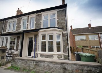 Thumbnail 3 bed end terrace house for sale in Soundwell Road, Bristol