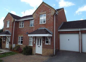 Thumbnail 3 bed semi-detached house to rent in Saxby Road, Chippenham