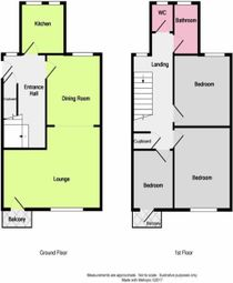 Thumbnail 3 bedroom flat to rent in Broomfield Avenue, Broadwater, Worthing