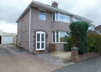 Thumbnail 3 bedroom semi-detached house to rent in St Margarets Road, Plympton, Plymouth