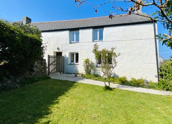 Thumbnail 5 bed farmhouse for sale in Tregurrian, Watergate Bay
