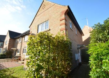 Thumbnail 3 bed semi-detached house for sale in Finn Close, Bourne