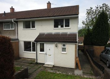Thumbnail 2 bed end terrace house to rent in Grosmont Place, Croesyceiliog, Cwmbran