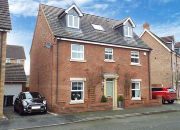 Thumbnail 5 bed detached house for sale in Harewelle Way, Harrold, Bedfordshire