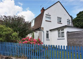Thumbnail 3 bed semi-detached house for sale in Churchill Road, Lewes