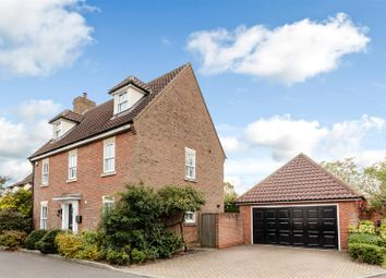 Thumbnail 5 bed detached house for sale in Cambridge Close, Stock, Ingatestone