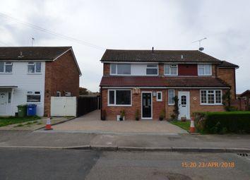 Thumbnail 3 bed semi-detached house to rent in Bradfield Avenue, Teynham