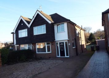 Thumbnail 4 bed semi-detached house for sale in Rufford Avenue, Bramcote, Nottingham, Nottinghamshire